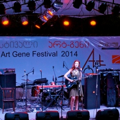 Art Gene Festival, in Tbilisi, Georgia