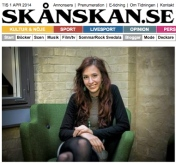 Lundaartist fick spela in i L.A, Yvonne Erlandsson, Skånska Dagbladet 20/3-14 http://www.skd.se/2014/03/20/lundaartist-fick-spela-in-i-la/