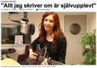 """""""Allt jag skriver om är självupplevt"""" 1/10-13, P3 Din gata http://sverigesradio.se/sida/artikel.aspx?programid=2576&artikel=5661562"""