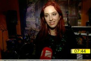 Interviewed by Georgian Rustavi 2 at Zazanova 20-10-2013