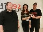 Radio 92, (Sweden) 21/9-13 http://radio92.se/allmant/studiobesok-2013-09-21/