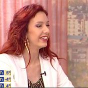 "Guest in TV Imedi´s morning show ""Dila"" საბინა ჭანტურია მერაბ სანოძესთან ერთად დილის შოუზე იმედის ტელევიზიაში, 29/1-14 https://www.youtube.com/watch?v=E6iZUEiyDgw&t=81s"