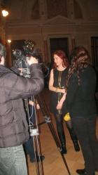 "Interview by TV-show ""Dilit"" at the National Georgian TV-channel Imedi, საბინა ჭანტურია, 21/3-13 https://www.youtube.com/watch?v=cTDwkfqoIDA&t=1s"