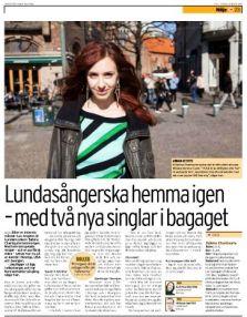 Elin Falkenström CITY 21-03-2014