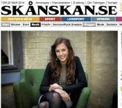 Lundaartist fick spela in i LA, Yvonne Erlandsson, Skånska Dagbladet 20-03-2014