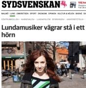 Elin Falkenström, Sydsvenskan 22-03-2014