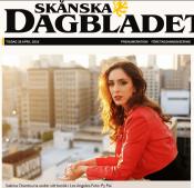 Lundaartist tror på Hollywood-drömmen, 26/4-16, Christina Justesen, Skånska Dagbladet http://www.skd.se/2016/04/26/lundaartist-tror-pa-hollywood-drommen/