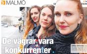De vägrar vara konkurrenter, Ida Eriksson, Lokaltidningen, 8/5-16 http://www.e-pages.dk/malmov/322/