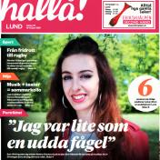 """""""Jag var lite som en udda fågel"""", Irina Bernebring Journiette, Interview in Hallå Malmö, 15/6-16"""