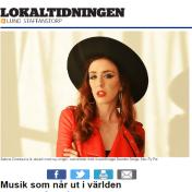 Musik som når ut i världen, Fredrik Magnusson, 15/6-16, Lokaltidningen http://lund.lokaltidningen.se/nyheter/nyheter_lokala/2016-06-15/-Musik-som-n%C3%A5r-ut-i-v%C3%A4rlden-316630.html