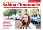 Kulturstipendiat 2016: Sabina Chantouria Singer-songwriter gör internationell karriär, Ann Mellblom, Spegeln, 4/10-16 http://tidning.spegeln.se/spegeln/