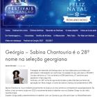 Geórgia – Sabina Chantouria é o 28º nome na seleção georgiana, Carlos Portelo, Festivais Cancao, 11/12-16 https://festivaiscancao.wordpress.com/2016/12/11/georgia-sabina-chantouria-e-o-28o-nome-na-selecao-georgiana/