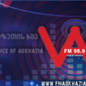 Stranger in Radio აფხაზეთის ხმა • Voice of Abkhazia FM 98.9 (Georgia) 2017