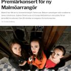 Premiärkonsert för ny Malmöarrangör, Sydsvenskan https://www.sydsvenskan.se/2017-10-11/premiarkonsert-for-ny-arrangor Cecilia Lindberg, 11/10-17 -