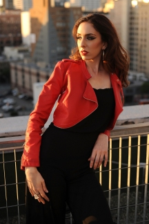 Sabina photo by Py Pai in downtown Los Angeles 2016