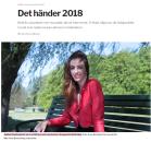 Det händer 2018, Sydsvenskan https://www.sydsvenskan.se/2018-01-10/det-hander-2018