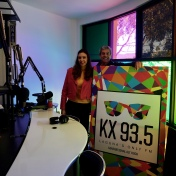Guest at KX 93.5 Laguna Beach Los Angeles with Ed Steinfeld, 9/2-2019 https://www.kxfmradio.org/podcasts/sabina-chantouria-in-studio/