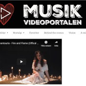 Fire and Flame on Musikvideoportalen.se http://www.musikvideoportalen.se/2019/11/01/sabina-chantouria-fire-and-flame-43626154