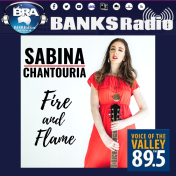 Sabina Chantouria's song Fire and Flame on Banks Radio Australia & Voice of the Valley 89.5 FM (AU) http://www.banksradio.com/