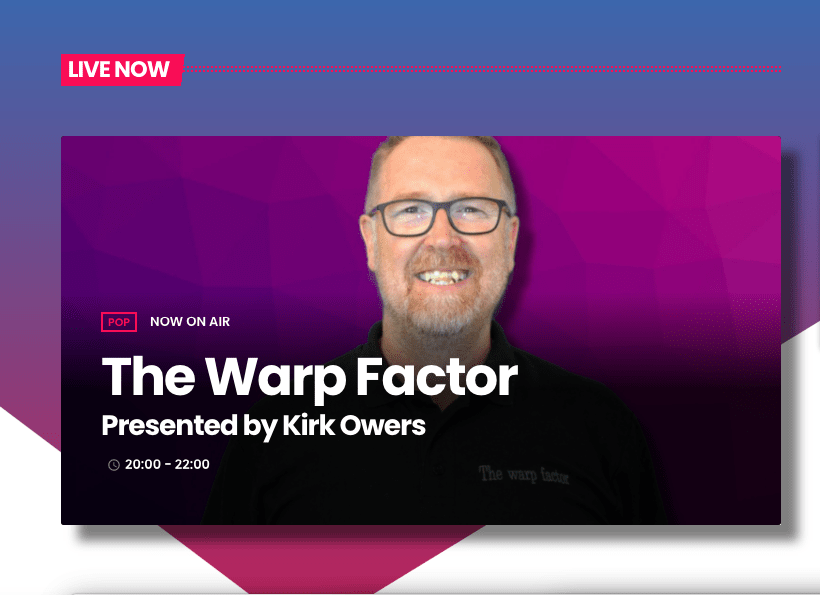 the warp factor